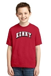 Youth Short Sleeve Red T-Shirt